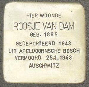 Stolpersteine Roosje van Dam
